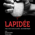 Lapidee tournee AFFICHE