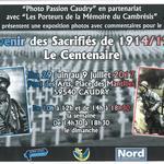 expo photo en souvenir des sacrifiés 14-18