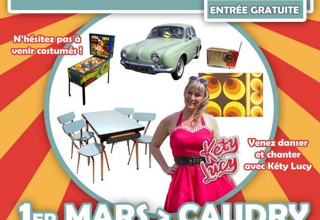 Affiche annees 60 a Caudry bis