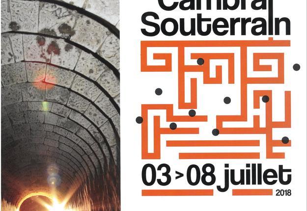 Affiche Souterrains 2018