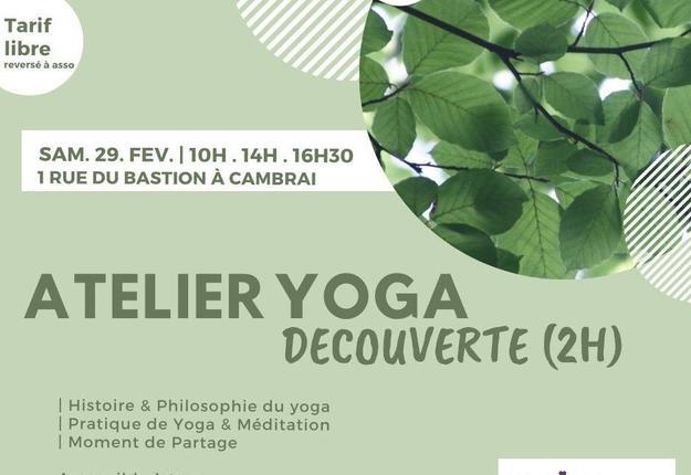 atelier yoga - fevrier 2020 - cambrai