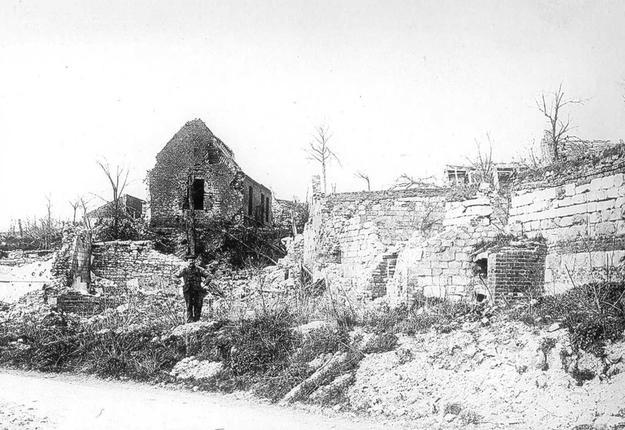 Bantouzelle ruines 2 Gaillard