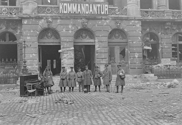 Cambrai OCJ - Libération 9 octobre 1918