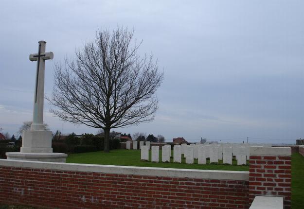 carnières communal cemetery extension
