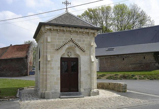 Caullery chapelle st roch