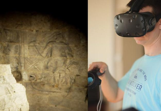 chateau de selles en realite virtuelle
