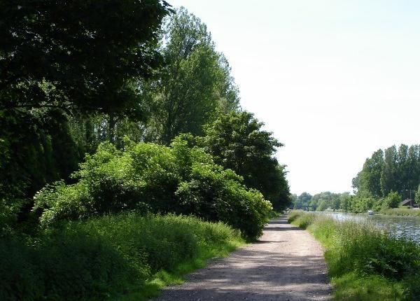 Chemin de halage, Paillencourt