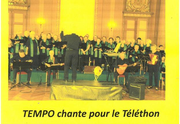 chorale Tempo téléthon 2019