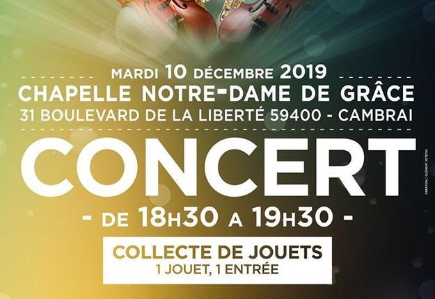 concert saint luc cambrai