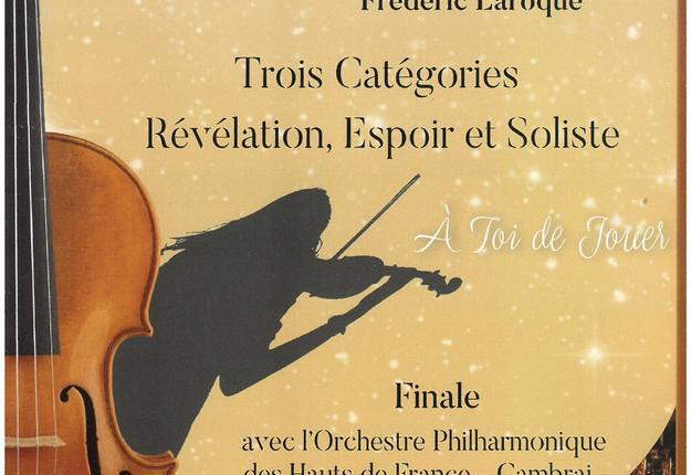 concours intrenational de violon 2019
