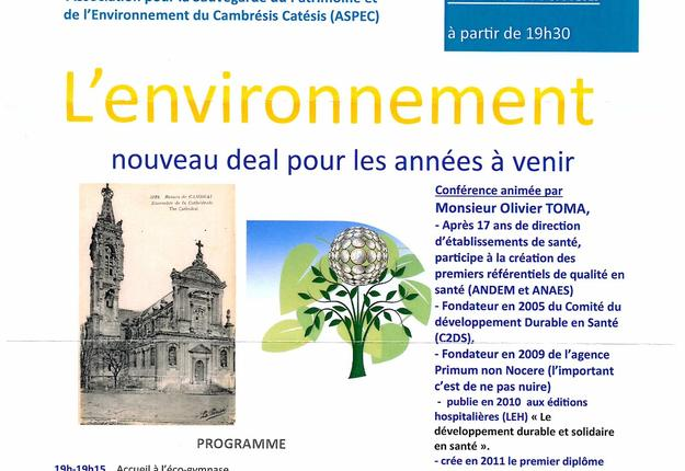 Conference Environnement 2019
