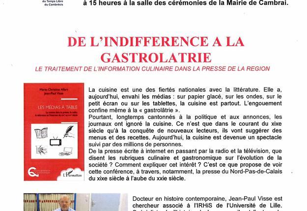 Conference UTL 19 nov. 2019