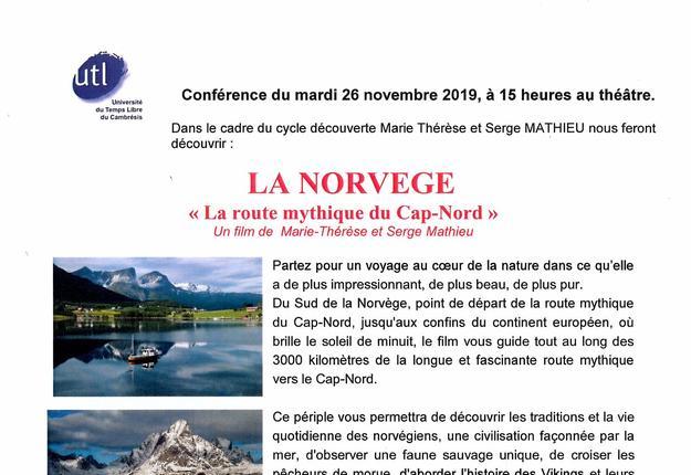 Conference UTL 26 nov. 2019
