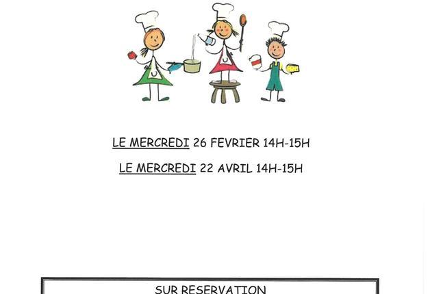 cours de cuisine enfants 2020 Andalou