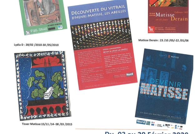 Expo Matisse s'affiche