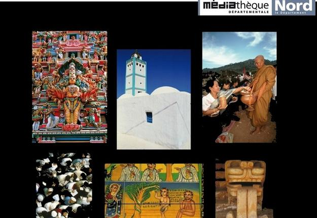 EXPOSITION religion - mediatheque raillencourt ste