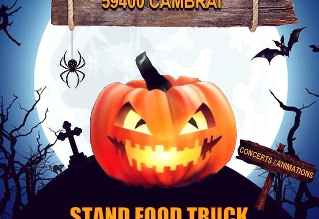 festival food truck halloween