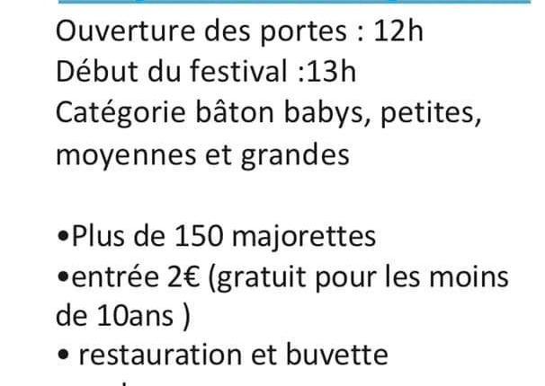 Festival majorettes