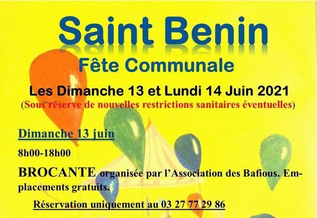 Fete communale Saint Benin