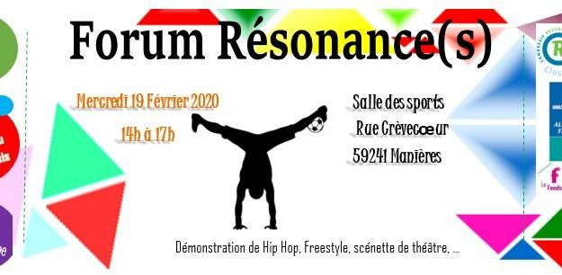 Forum resonance(s) fevrier 2020 masnieres