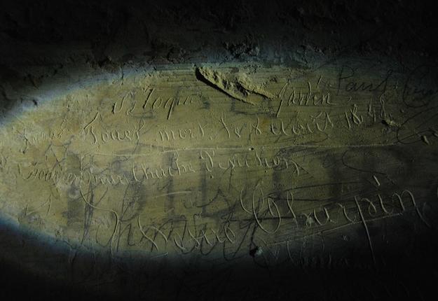 graffiti de la citadelle - copyright service Ville