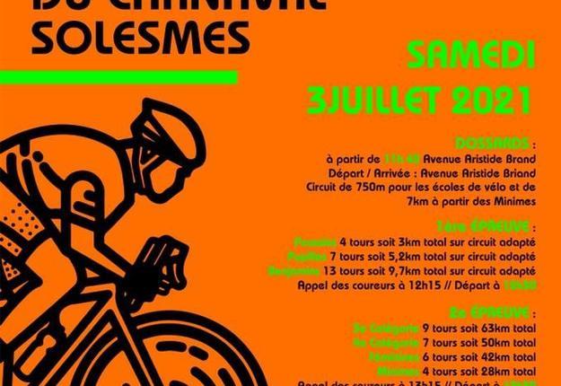 grand prix cycliste du carnaval de solesmes - juil