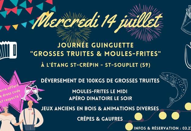 guinguette etang saint souplet