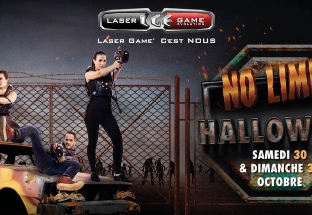 halloween laser game cambrai