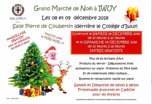 Iwuy Marche Noel 2018