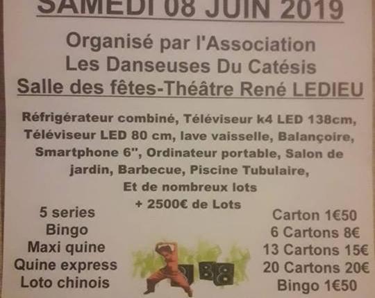 loto danseuses du catesis