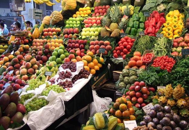 marché - légumes