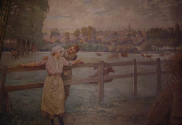 Fresques d'Henri Eugène Delacroix, Solesmes