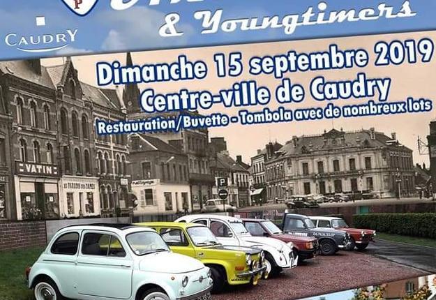 rassemblement de voitures anciennes - caudry retro