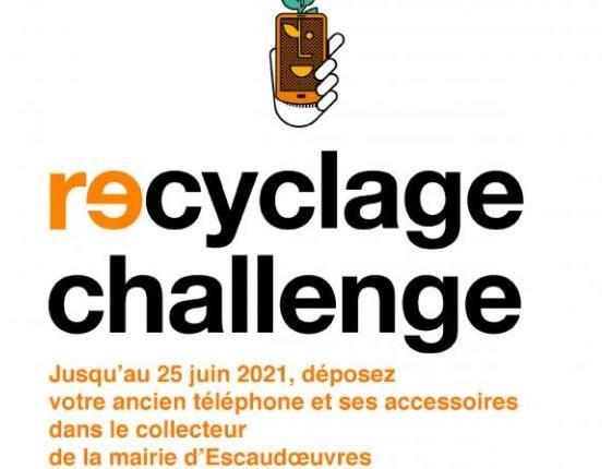 recyglage challenge escaudoeuvres 2021