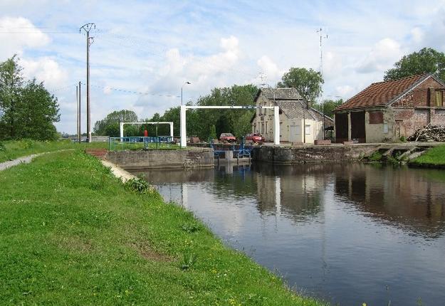 L'écluse du canal au bois de labbaye