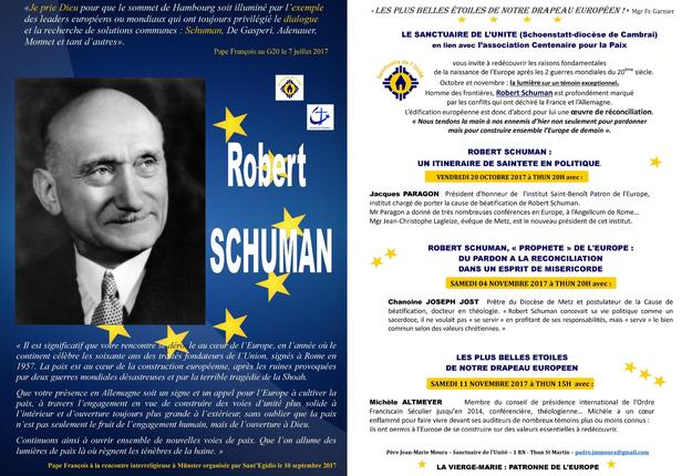 Robert Schuman - tract- 1 page
