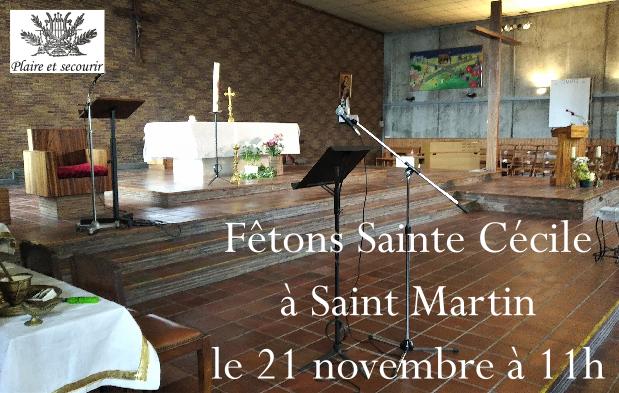 sainte cecile 21 novembre 2021