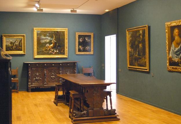 salles de peintures flamandes du musée de Cambrai