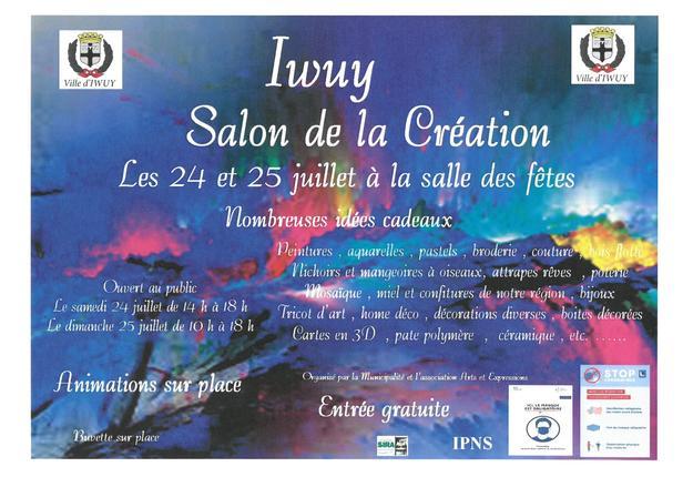 salon de la creation iwuy juillet 2021