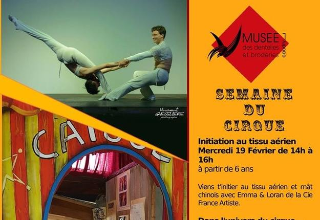 semaine du cirque - musee de la dentelle - fevrier