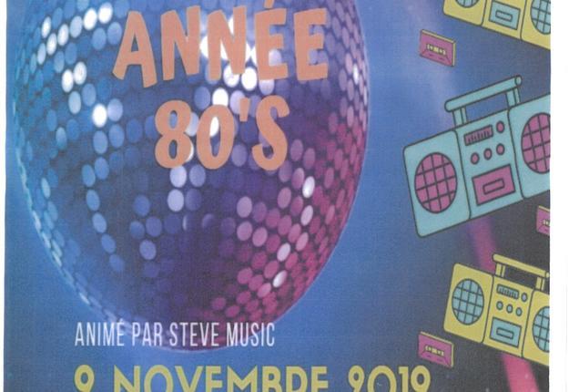 soirée année 80 ligny 2019