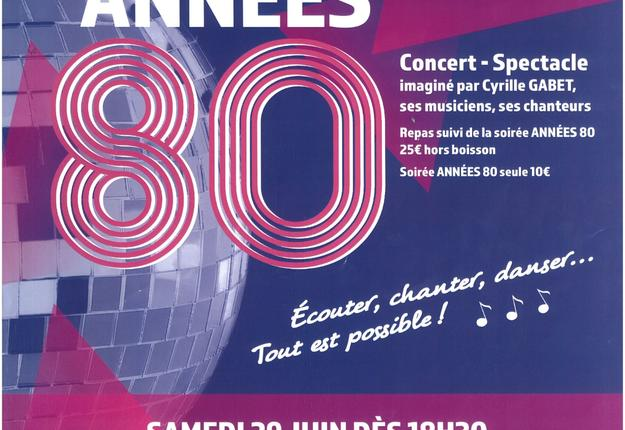 Soiree Annees 80 Bassin Rond