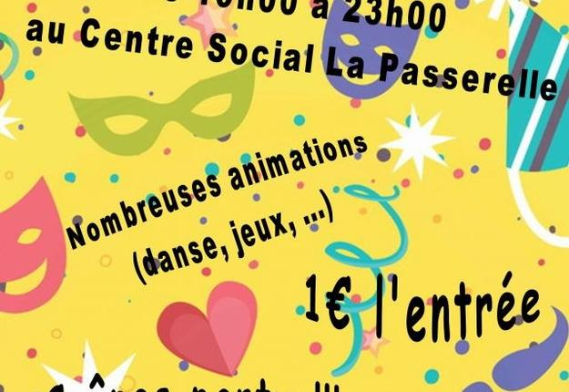 soiree-deguisee-centre social la passerelle - caud