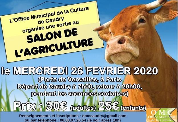 sortie salon agriculture - OMC - fevrier 2020