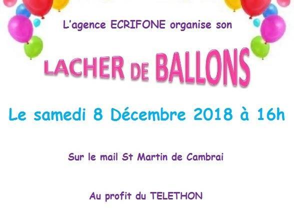 Telethon Ballons 2018