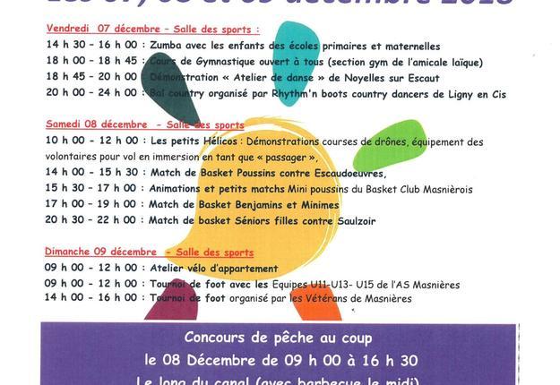 téléthon Masnières