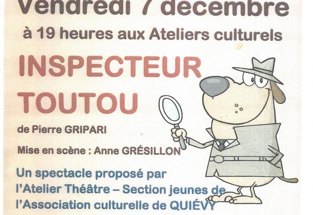 théâtre inspecteur toutou decembre 2018 caudry