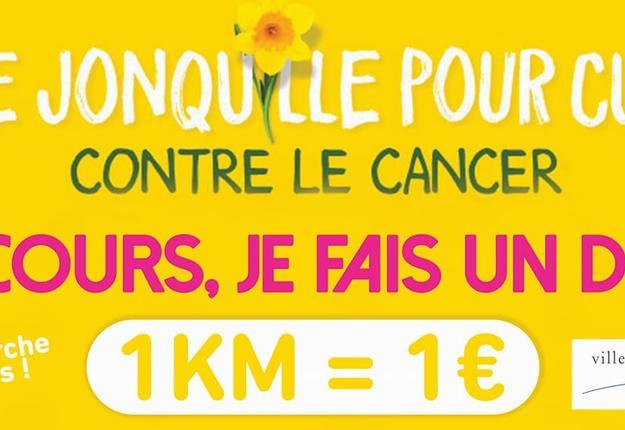 une jonquille pour Curie - Cambrai - mars 2021