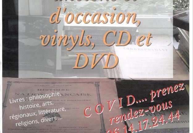 vente livres cd