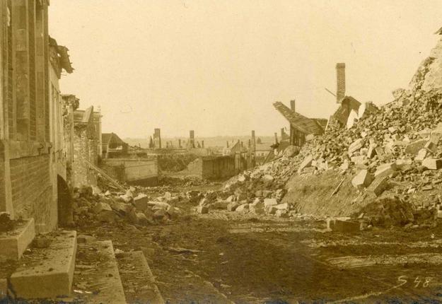 Villers Guislain en 1918
